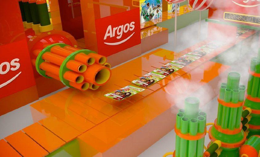 Nickleodeon-Argos Commercial
